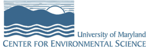 University of Maryland Center for Environmental Sciences Logo