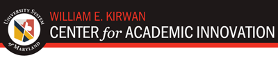 Kirwan Center for Academic Innovation Link and Logo