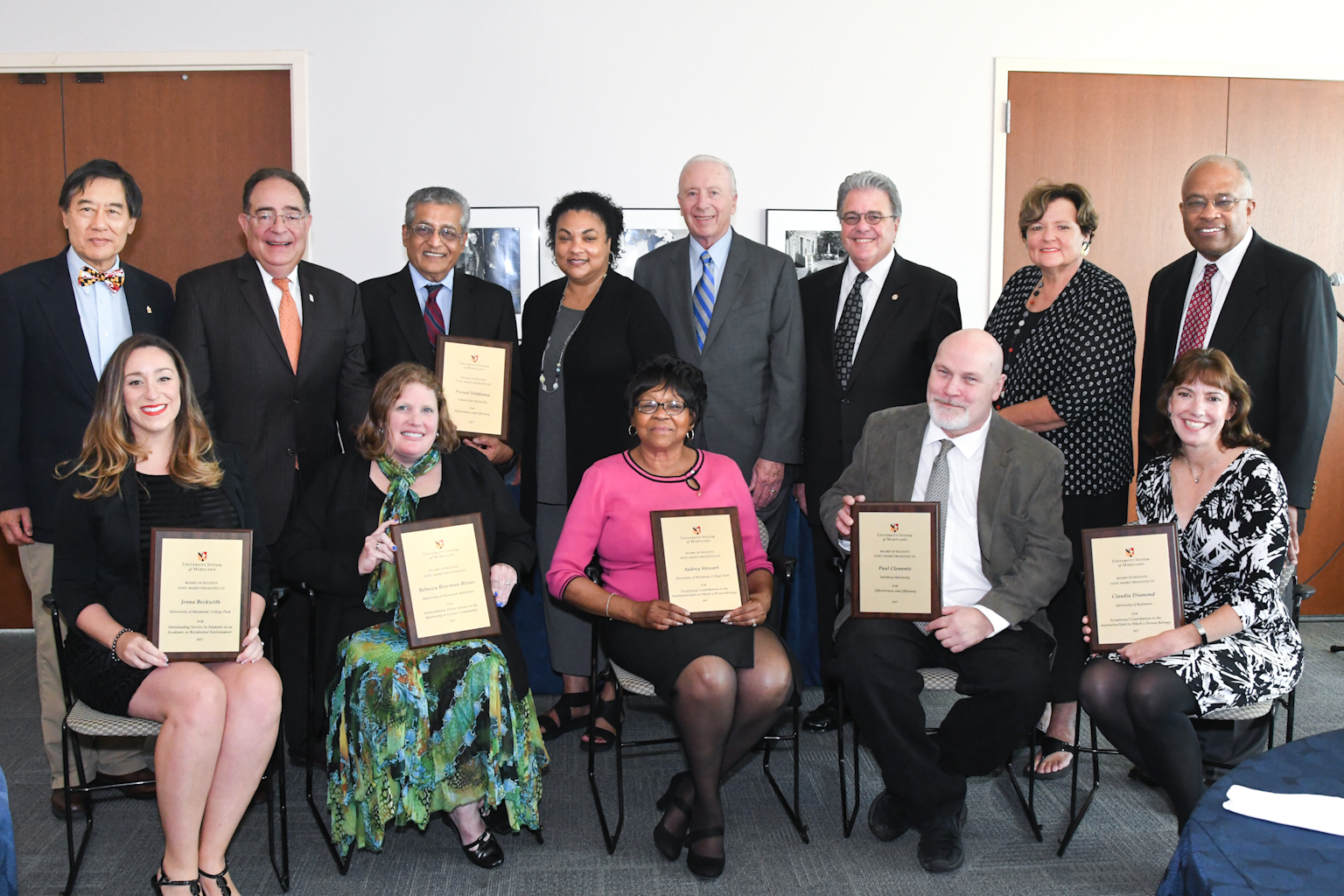2017 Board of Regents Staff Awardees